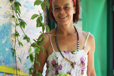 A visit to our friend, local artist Marinka, is always a heartwarming experience.