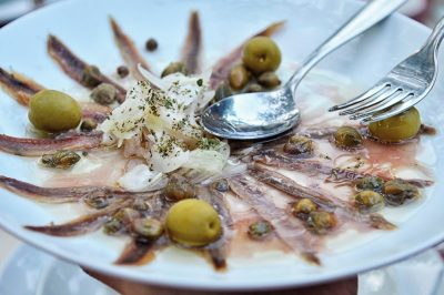 Culinary delights and local produce are one of our priorities - how about the best anchovies in the world?