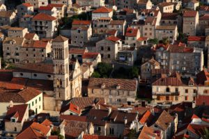 Island's architecture dates back to the time of the Venetians