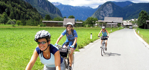 Cycling highlights of Slovenia
