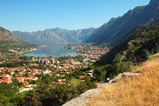Bay of Kotor, Unesco world heritage site, cycling montenegro tour