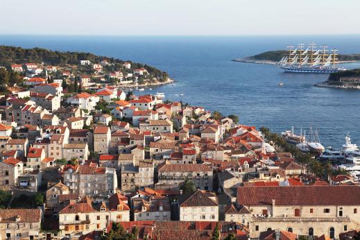 dalmatia tour, hvar town