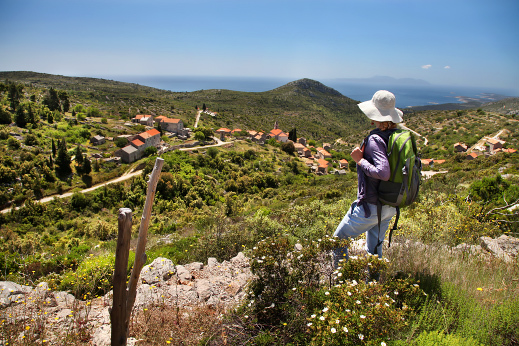 Hiking in the wild Hvar, Croatia Dalmatia tour
