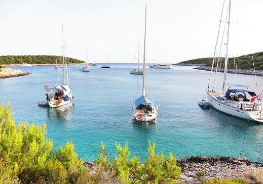 Hidden bays of Dalmatia