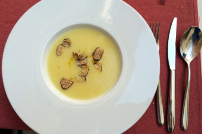 Culinary delicacies with truffles