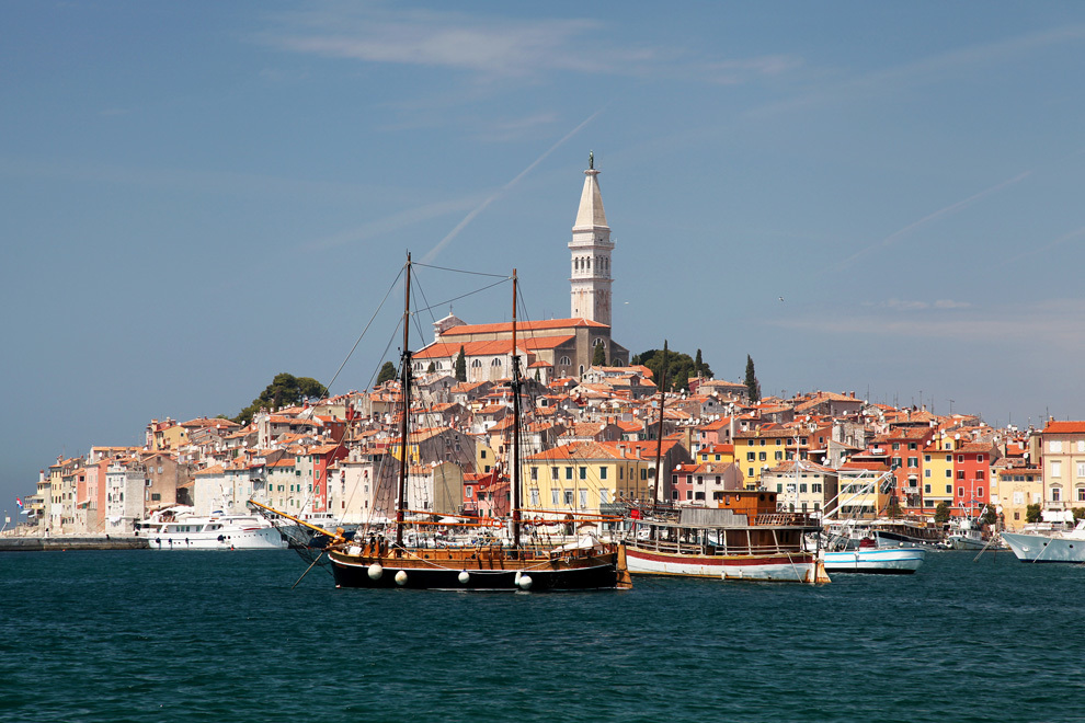 Coastal town of Rovinj