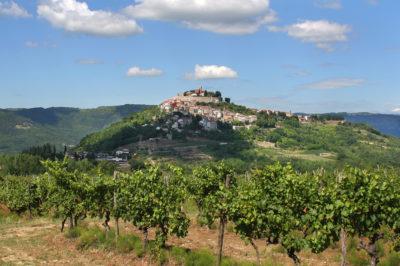 Medieval hilltop town of Motovun