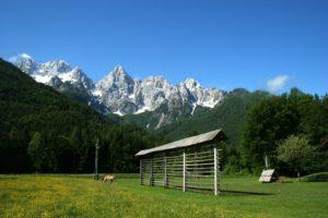 Hayrack - Slovenian cultural heritage