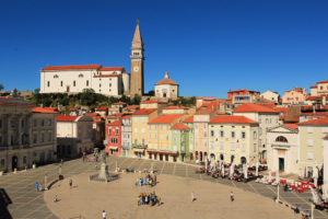Coastal town of Piran
