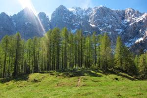 Vrsic mountain pass
