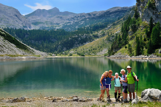 Today's hike will take you to Krn lake and picturesque views in the heart of Julian Alps.