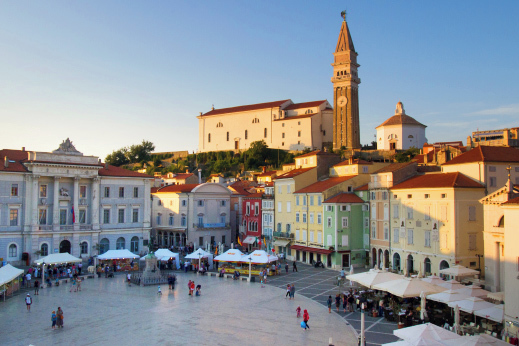Sea-side town of Piran