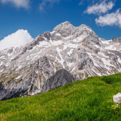 His majesty, Mt. Triglav, Slovenia's highest peak.