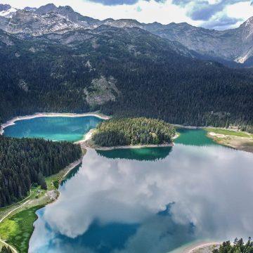 Black lake or Crno Jezero in Durmitor NP