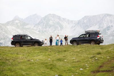 Off the beaten track in Montenegro.