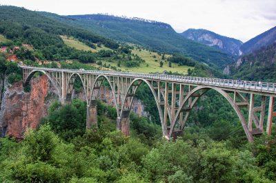 Legendary bridge of Djurdevica Tara.