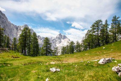 Northern ridge of Julian Alps.