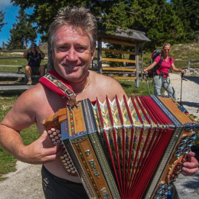 Accordion is a must in Slovene traditional folk music.