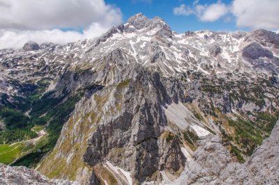 Mt. Triglav, in the heart of Triglav National Park.
