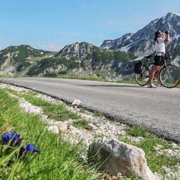 Montenegro is a great destination for biking.
