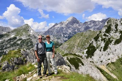 During our Hut-to-hut hiking Slovenia self-guided tour.