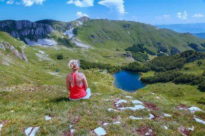 On Bjelasica mountain in Biogradska gora National Park.