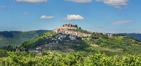 Hiking Croatian Istria